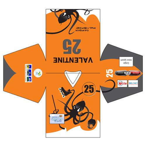 T shirt équipe Hockey