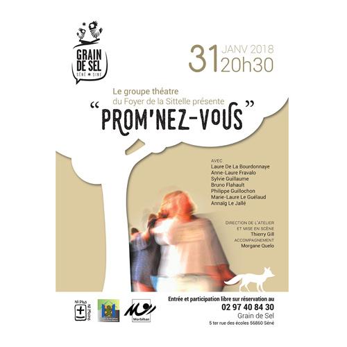Affiche du spectacle Promnez-vous